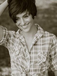 long pixie cut - I wish I had the courage to do this just once!