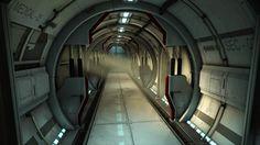 SciFi Hallway - UDK - Polycount Forum