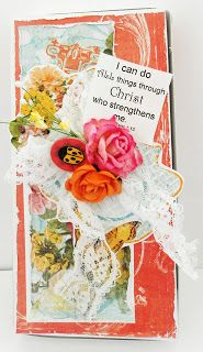 mixed media; scripture; Inspired Stamps