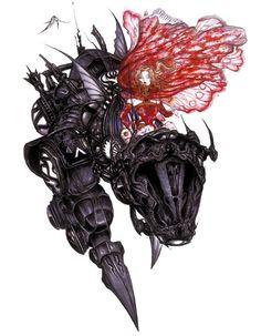 Terra  Magitek Armor - Pictures  Characters Art - Final Fantasy VI