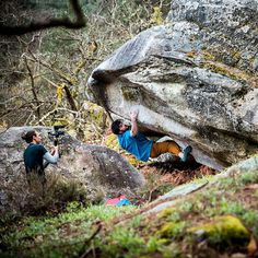 Le bouldering in the land of wine and cheese with tribesman Jimmy Webb. Fontainebleau, France. Photo by Cameron Maier. #surfandstone #hippytreetribe #climbing #bouldering #rockclimbing #outdoors #nature