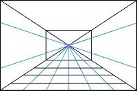 Single perspective template