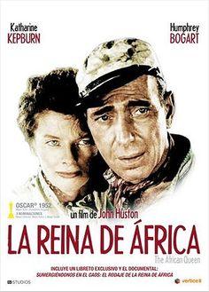 La reina de África (1951) EEUU. Dir: John Houston. Aventuras. Romance. I Guerra Mundial - DVD CINE 151