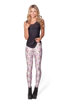 Baby Owl Leggings - WKNDER by Black Milk Clothing ($75 AUD)