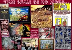 """art work collage by Paul Maler / """"Time shall be no more"""""""