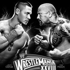 John Cena vs. The Rock.
