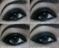 Smokey Black Eye Makeup Tutorial