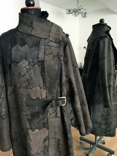 new yesterday - reworked persian lamb coat, reversible, one of a kind, unisex, Slow Fashion www.new-yesterday.com