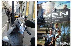 Courtesy Notes per X-Men: giorni di un futuro passato // Milano, Roma, Bologna, Firenze e Torino // Maggio 2014 #xmen #guerrillamarketing