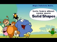 Solid Shapes of Geometry Part 2 - Class 3 Math for Kids