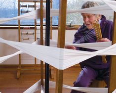 Ethel Stein in her studio. Photo/copyright Tom Grotta, courtesy of browngrotta arts.