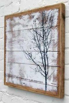 Wood+Pallet+Art | Interieur Inspiratie #43 Wooden Pallet Art