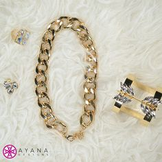 Luxe Life <3 #AyanaDesigns #fashion #trending #jewelryofinstagram #mystyle #fab #getthelook #luxe #fancy #allgold #bling
