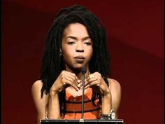 Part 2 of the Lauryn Hill speech video.  She's dropping some knowledge here.