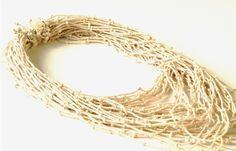 Jorge Manilla - serie 'metamorfosis divinas' (rope necklace)