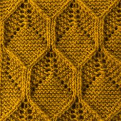 How to block textured knits Knitting Charts, Lace Knitting, Knitting Stitches, Knitting Designs, Crochet Stitches Patterns, Stitch Patterns, Knitting Patterns, Honeycomb Stitch, Big Knit Blanket