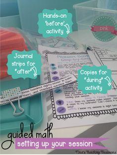 Before, During, and After tips for Guided math