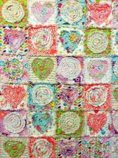 Rag Quilt PATTERN & TUTORIAL Summer in the Park by itssewsally