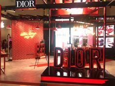 Dior pop up store