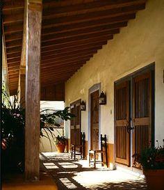 Spanish Hacienda Style House Plans