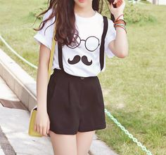 Geek outfit but pretty cute