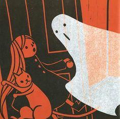 The Haunted House, by Kazuno Kohara, Macmillan Children's Books, 2008