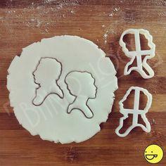 Pride and Prejudice geïnspireerd cookies kotters   klassieke koekjes scharen, jane austen roman, Elizabeth Bennet en mijnheer Darcy Engelse romantiek