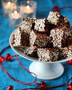 Elins gule bomber - Krem.no Christmas Sweets, Christmas Cookies, Christmas Holidays, Norwegian Christmas, Norwegian Food, Sweet Treats, Food And Drink, Panna Cotta, Cooking Recipes
