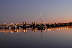 Bridge Of Lions at Sunrise in St Augustine,FL