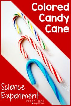 An easy science experiment using colored candy canes - or any candy canes you have on hand! See which science experiment we did and then get suggestions for several others, as well! A perfect Christmas science experiment for homeschool or in the classroom.