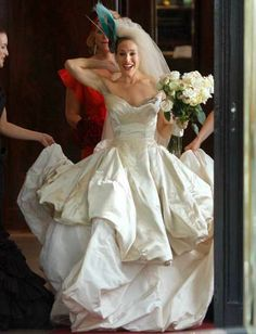 Sarah Jessica Parker, Sex In The City Movie Wedding Dress