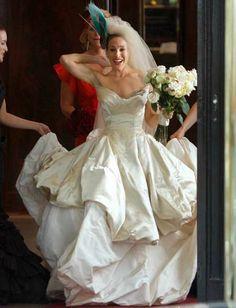 Sarah Jessica Parker, Sex In The City Movie Wedding Dress
