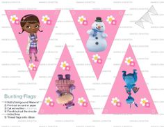 Doc McStuffins Printable Party Package by HandmadePartyDecor, $20.00