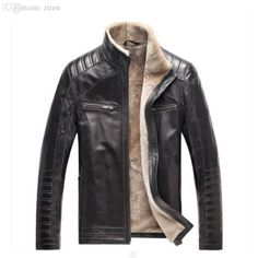Fall New Winter Warm Mens Genuine Leather Jacket Men Retro Brown Sheepskin Fur Coat Man Wool Liner Shearling Jackets And Coats From Yinglan's Store | Dhgate.Com