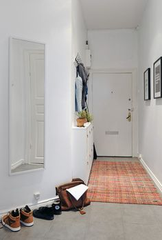 Clever hall storage - not a lot of space but a whole lot of functionality!