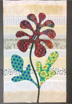 Flower Garden, Kim McLean - Block 13 (Laila Nelson)