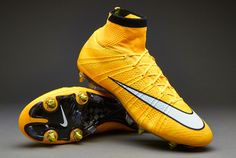 Nike Football mercurial laser orange