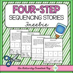 Description: This set of four sequencing stories are a sample from my Four Seasons Sequencing Set. These materials are great for targeting a variety of speech and language goals including auditory comprehension, story retell, sequencing information, answering questions, sentence structure and articulation in conversation. How to Use: