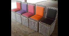 O empresário Adriano Bezerra de Sousa é dono da MEA - Móveis Ecológicos da Amazônia, que faz móveis com latinhas de alumínio