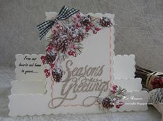 Hello everyone, Sharing some Christmas card makes, I have made over a couple of days. Christmas Card Crafts, Christmas Cards To Make, Before Christmas, Xmas, Stepper Cards, Tattered Lace Cards, Sympathy Cards, Carnations, Poinsettia