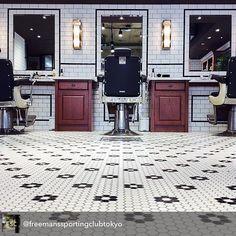 Barber Shop Floor