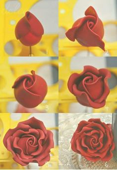 How to make gumpaste rose