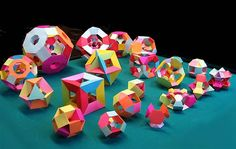Welcome to Math Craft! Plus: How to Make Paper Polyhedra