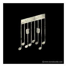 Music! #musicart #artwork www.pinterest.com/TheHitman14/music-art-%2B/
