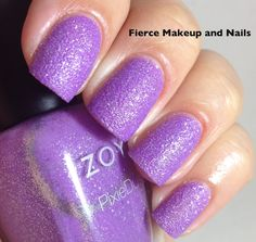 Fierce Makeup and Nails: Zoya Summer 2013 PixieDust Collection