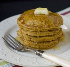 Sweet Potato Pancakes Makes about 24 pancakes Recipe Notes: The recipe gives directions for cooking the sweet potatoes by boiling them. If you would rather cook them in the microwave, scrub the sweet potatoes and pierce all over with a fork. Microwave for 6 to 7 minutes on high, until they are easily pierced through …