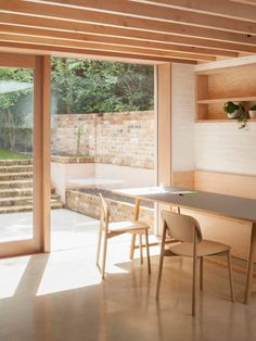 Riversdale Road by O'Sullivan Skoufoglou Architects | O'Sullivan Skoufoglou Architects has rearranged the ground floor of a Victorian terraced house in north London and introduced a material palette to the extended space that complements the original brick walls. | Photo © Ståle Eriksen