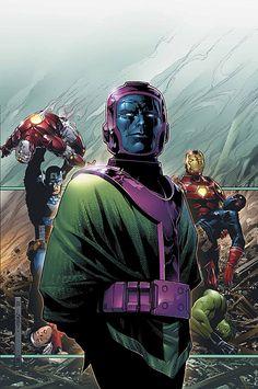 Kang the Conqueror (Nathaniel Richards of - Marvel Comics Comic Book Villains, Marvel Villains, Comic Book Characters, Marvel Characters, Comic Character, Comic Books, Character Ideas, Hq Marvel, Marvel Comics Art