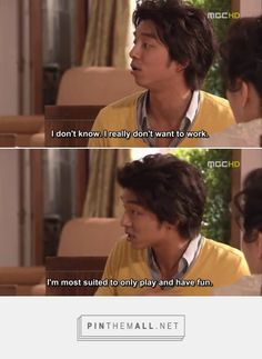 I feel you, Han-kyul. Coffee Prince #korean #drama