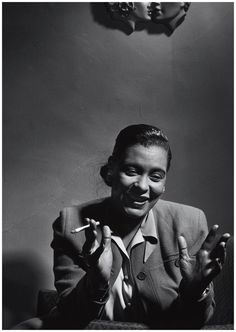 """""""The whole of my singing is feeling. Unless I feel something, I can't sing."""" - Billie Holiday"""